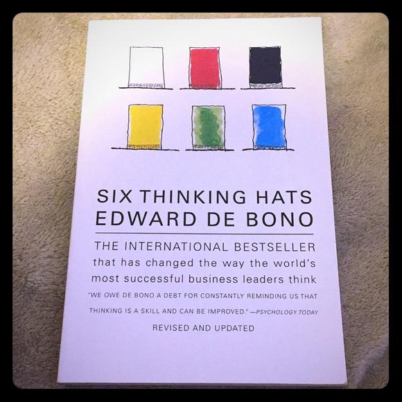 Six Thinking Hats Book By Edward De Bono